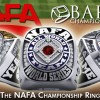 NAFA and Baron's Rings enters partnership so that teams can now buy NAFA Champions, Hall of Fame, MVP, All World Rings from Baron's